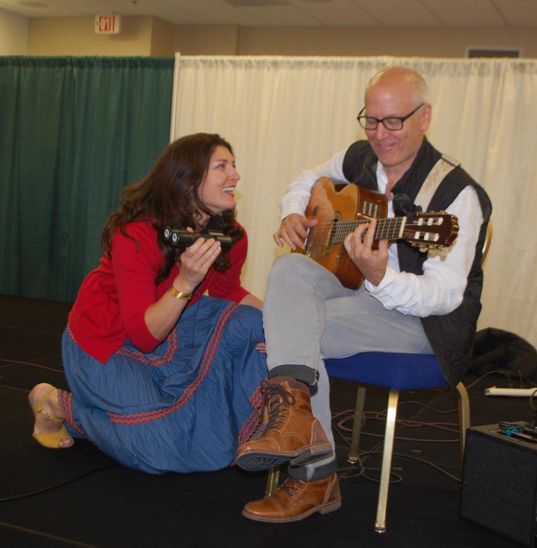 Villa Palagonia Music Duo: Allison Scola and Joe Ravo